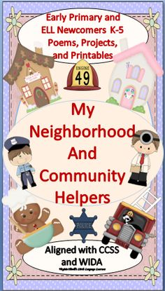 Neighborhood places are explored in this thematic unit. Your students will become familiar with the concepts and vocabulary of the neighborhood setting. Community helpers and the jobs that they do are also taught in this unit. The children will develop their skills in writing, phonemic awareness, math, sight words, and story sequencing through this unit's theme. Poems, label books, writing templates, scaffolded writing templates, word matches, sight word trace/search activities and much…