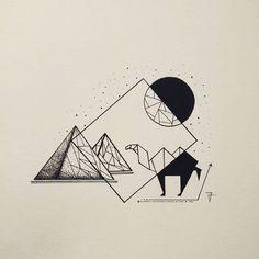 Image result for geometric camel