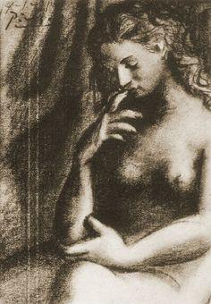 Pablo Picasso, 1921 Nu assis