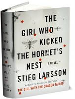 The Girl Who Kicked The Hornet's Nest...part of the Stieg Larsson trilogy...a MUST read!