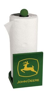 John Deere paper towel holder.