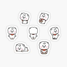 High quality Babies gifts and merchandise. Inspired designs on t-shirts, posters, stickers, home decor, and more by independent artists and designers from around the world. Pop Stickers, Tumblr Stickers, Printable Stickers, Bts Drawings, Kawaii Drawings, Kpop Diy, Journal Stickers, Bullet Journal Ideas Pages, Bts Chibi