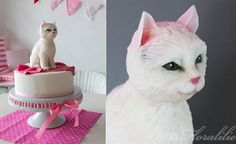 Kitty Cat Cakes for Cat Lovers | Cake Geek Magazine