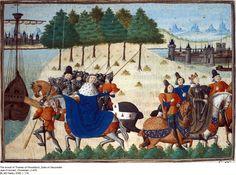 The Arrest of Thomas of Woodstock, Duke of Gloucester, Jean Froissart, Chronicles, c 1470