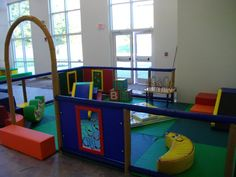 soft play corner - see through walls