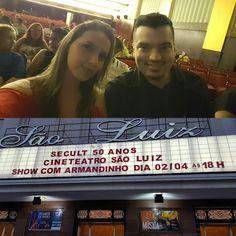 """Daqui a pouco começa! Show """"Guitarra Baiana"""" com @armandinhomacedo!  #GuitarraBaiana #Teatro #Theather #MusicaInstrumentalBrasileira"""