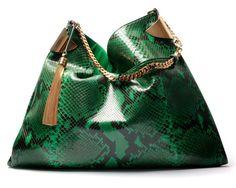 Gucci-1970-Large-Green-Python-Shoulder-Bag-Spring-2012.jpg (683×546)