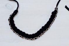 chain zpagetti crochet necklace...free pattern!