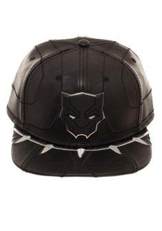 8968da93e0cb4 Black Panther Suit Up Snapback Black Panther Hat