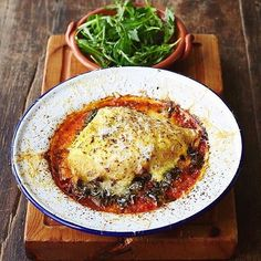 #Repost from @jamiesitalianuk - Our spinach & ricotta crespelle is made up of buckwheat pancakes baked with smoked mozzarella, sweet leeks, cime di rapa & tomato sauce. It's #GlutenFree #MeatFree & the perfect chilly winter warmer.