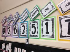 Classroom Place Value Display {FREEBIE!} - Sprout Classrooms - www. Math Resources, Math Activities, Place Value Activities, Math Strategies, Fractions, Place Value Chart, Place Value Poster, Math Classroom Decorations, Fifth Grade Math