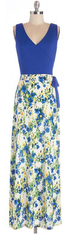 sweet #blue floral dress http://rstyle.me/n/juac9r9te