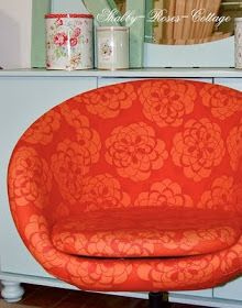 Shabby-Roses-Cottage: My Skruvsta with Cath Kidston upholstery...