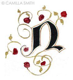 Hand-lettering alphabet: N | Flickr - Photo Sharing!