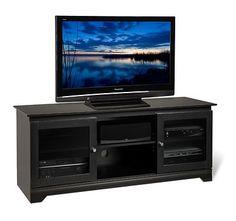 Me gusta el negro el televisor.