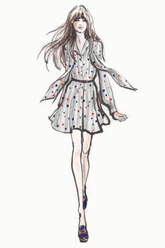 Sketches from To Tommy, From Zooey. [Photo by Courtesy of Tommy Hilfiger Group]