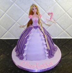 Rapunzel Cake By chocchippy on CakeCentral.com