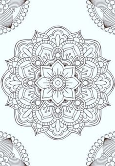 Mandala fleur simple unique doodle art doodle it. Mandalas Painting, Mandalas Drawing, Mandala Coloring Pages, Adult Coloring Pages, Coloring Books, Adult Colouring In, Easy Mandala Drawing, Leaf Drawing, Coloring Tips