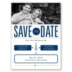 Our Love Story - Save the Date Card