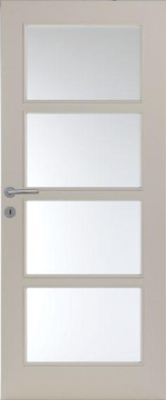 Porte intérieure contemporaine à peindre Portes intérieures