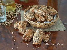 I Biscotti Reginelle con tanto sesamo tipici palermitani