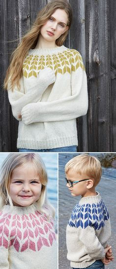 Søkeresultater for: 'pilgenser' How To Purl Knit, Knit Crochet, Diy And Crafts, Turtle Neck, Knitting, Sweaters, How To Make, Ideas, Fashion