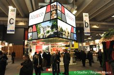Salon international de l'agriculture - stand Marque Alsace