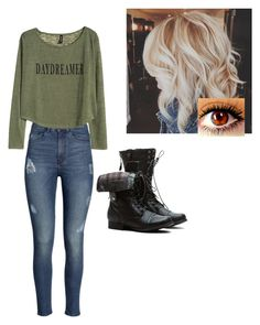 """""""daydreams"""" by dreams-do-come-true98 ❤ liked on Polyvore featuring mode, H&M en Typhoon"""