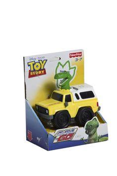 Carro con dinosaurio Toy Story.