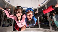 Indoor Skydiving | Get the rush of skydiving parachute-free—without that whole part about jumping out of a plane. At this indoor skydiving facility, you'll experience a two-flight introduction to piloting your own body. Learn to fly through the air with none of the risk but all of the fun.