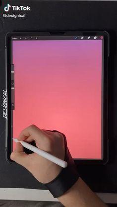 Digital Art Beginner, Iphone Life Hacks, Ipad Art, Digital Art Tutorial, Cool Art Drawings, Art Tips, Art Tutorials, Digital Illustration, Creative Art