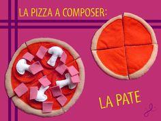 Patron et Explication de le Pâte à Pizza