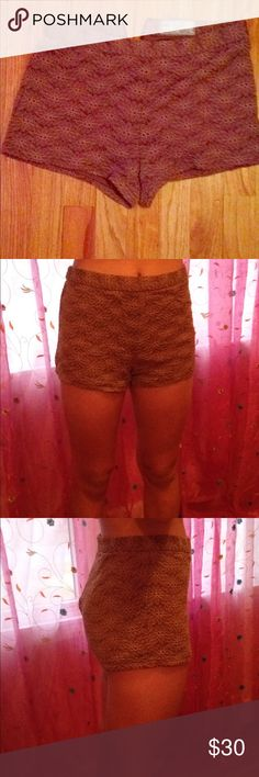 Brown free people shorts Good to dress up and down. Free People Shorts Skorts