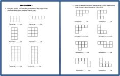 FREE PERIMETER PRINTABLES~  Five sets of perimeter worksheets as well as a flash presentation,and teacher guide.  Great resource for teaching perimeter!