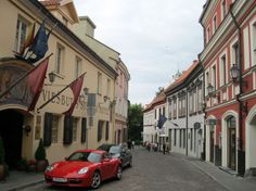 Vilnius - street in the Old Town