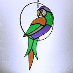 Parrot On Perch Price: $49. Enter coupon code PIN10 at checkout from colorandlight shop to get 10% off your total purchase.