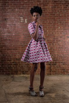 NEW The Portia Dress African Print  100 by DemestiksNewYork, $150.00