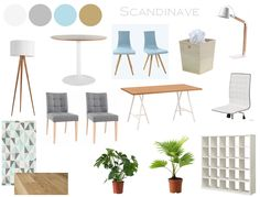 Shopping lists for a professional office Office Admin, Dining Chairs, Dining Table, Clinic Design, Garage Cabinets, Shopping Lists, Dressing Table, Decoration, Room