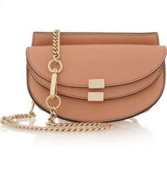 Chloé - Georgia convertible leather belt bag - EXCLUSIVE AT NET-A-PORTER.COM…