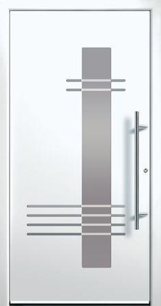 Modern Entry Doors - Modern Entry Door Modern Entry Door, Modern Exterior Doors, Entry Doors, Entrance, Main Door Design, Front Door Design, Modern Windows And Doors, Modern Driveway, Home Stairs Design