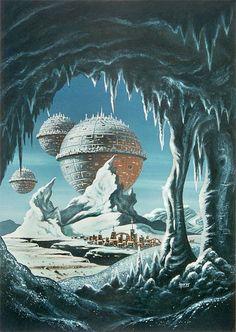 Картинки по запросу 70s sci-fi art