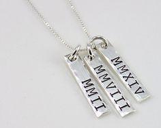Name Necklace personalisierte Halskette Mom von TagYoureItJewelry