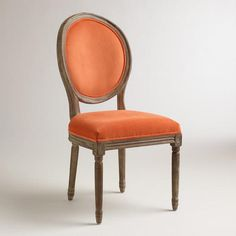 One of my favorite discoveries at WorldMarket.com: Spice Paige Round Back Dining Chairs, Set of 2