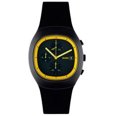 Alessi Ray Watch AL21011 Black