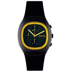 Alessi Ray Watch AL21011 Black