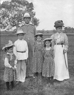 Major General Henry M. Lawton and his family, Philippines, 1899 | Flickr - Photo Sharing!