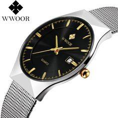 $163.55 (Buy here: https://alitems.com/g/1e8d114494ebda23ff8b16525dc3e8/?i=5&ulp=https%3A%2F%2Fwww.aliexpress.com%2Fitem%2FWWOOR-Men-s-Watches-New-luxury-brand-watch-men-Fashion-sports-quartz-watch-stainless-steel-mesh%2F32666661232.html ) WWOOR Men's Watches New luxury brand watch men Fashion sports quartz-watch stainless steel mesh strap ultra thin dial date clock for just $163.55