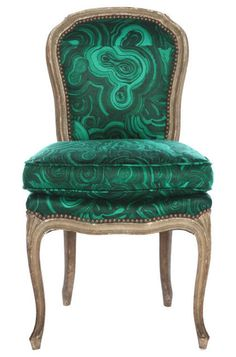 malachite chair