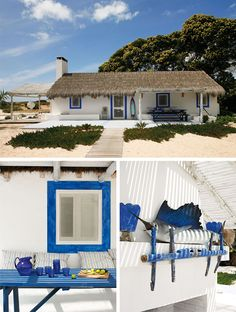 beach house rental in Portugal Cottage Porch, Beach Cottage Decor, Alcacer Do Sal, Casa Patio, Beach Shack, Coastal Homes, Beach Cottages, My Dream Home, Dream Homes