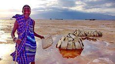 ТАНЗАНИЯ: Племена Африки - Масаи 3. Ужин с вождем племени Масаи и вся соль озера Натрон